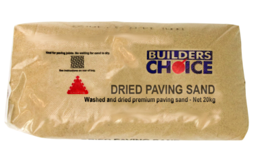 20KG Builders Choice - Dried Paving Sand