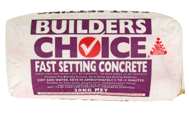 Fast Setting Concrete - BGC - Builders Choice