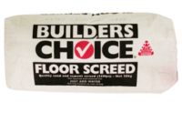 Builders Choice - Drymix Floor Screen - Drymix 20kg