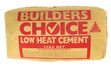 Builders Choice - Low Heat Cement 20kg