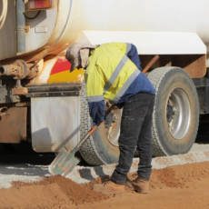 Cement used for Road Stabilisation